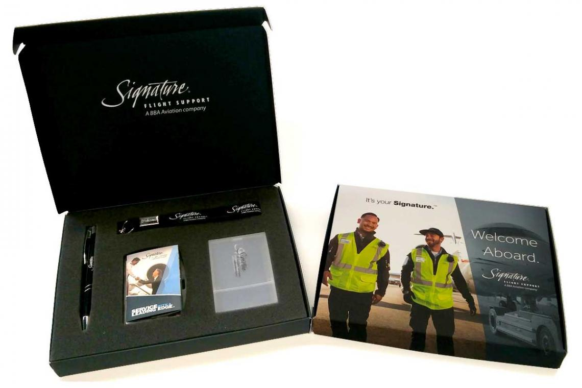 Signature Flight Support Welcome Kit