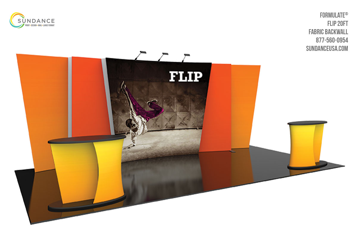Trade Show Booth Graphic Design : Trade show booths sundance orlando printing design mail large