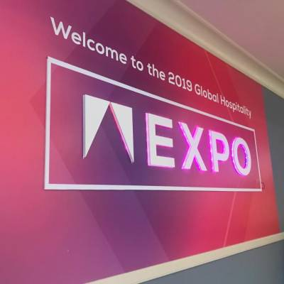 LED Signage for the Global Hospitality EXPO
