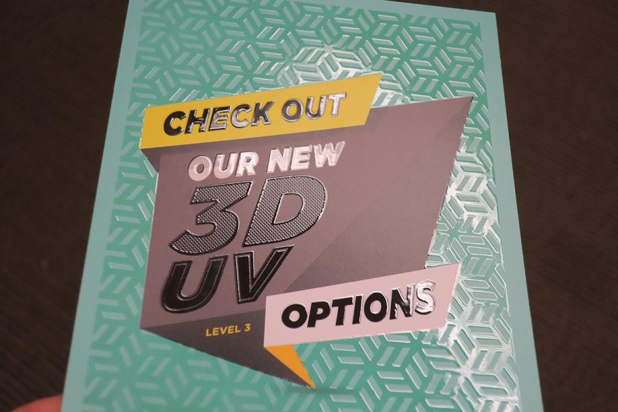 "Raised ""3D"" UV"