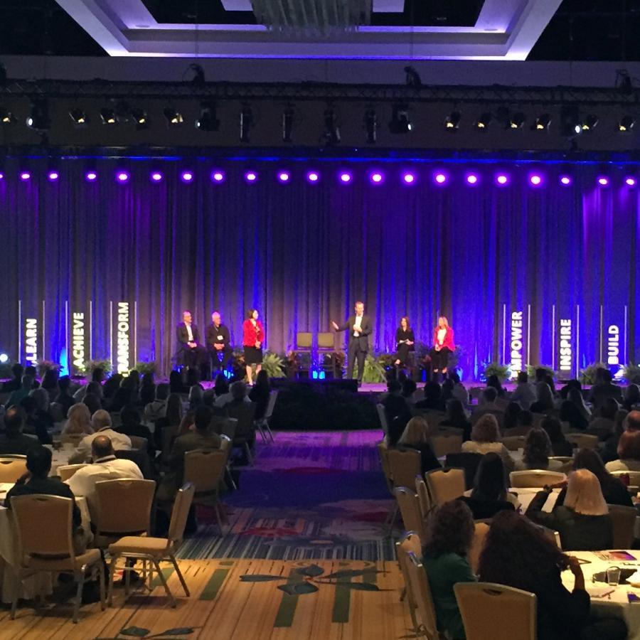 Florida Hospital Leadership Conference Displays