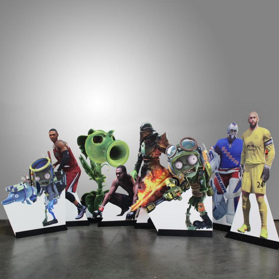 EA Sports Character Cutouts