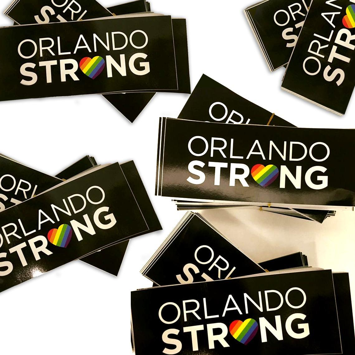 Orlando Strong Stickers